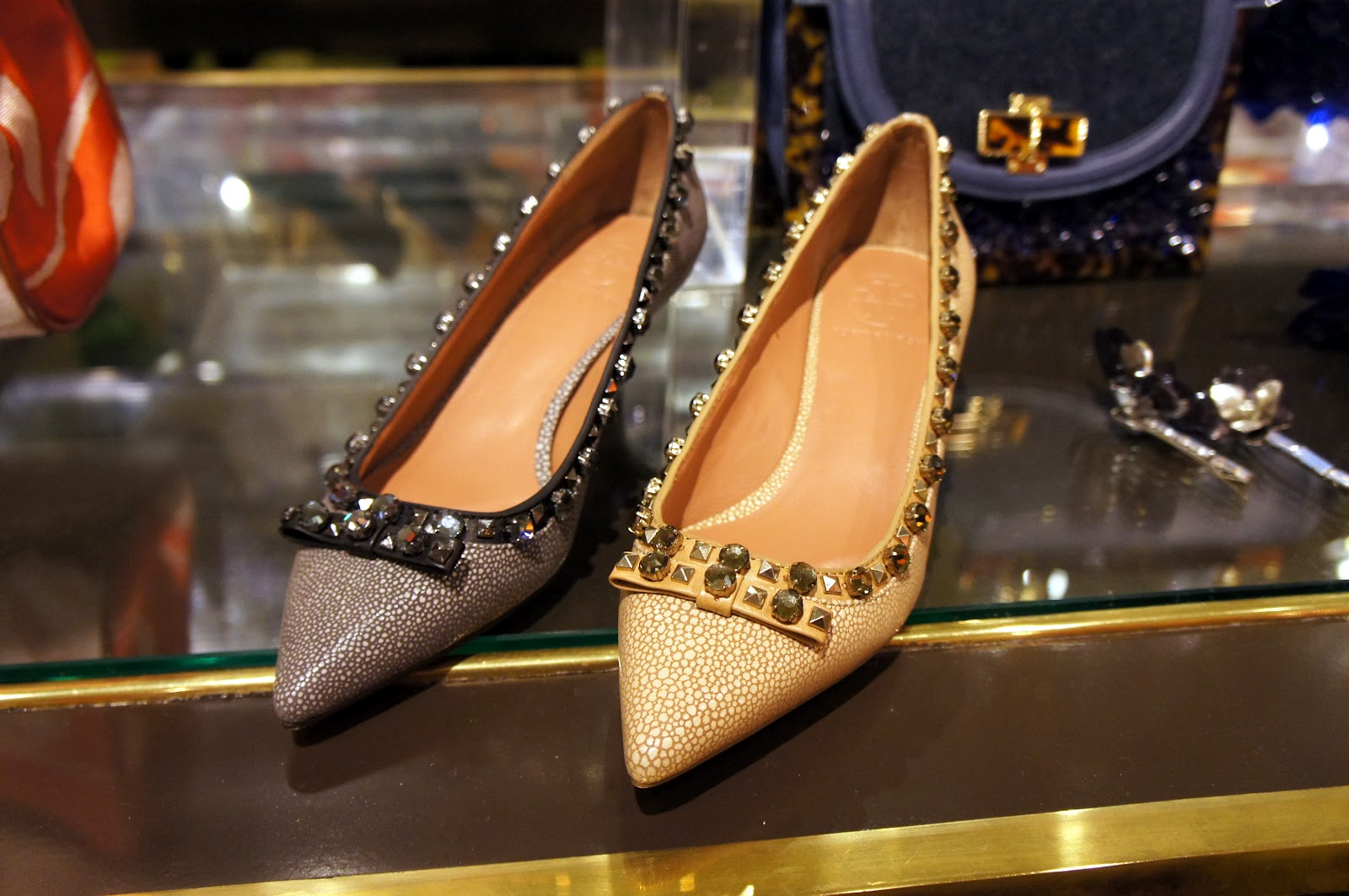 tory burch fall 2012 studded pumps