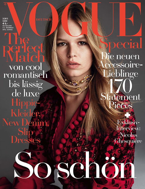 Fashion Model, @ Anna Ewers - Vogue Germany, March 2016