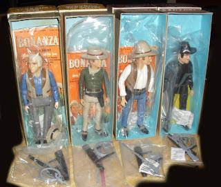 American Character Toy's Bonanza Figures