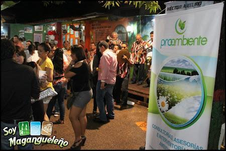 Parrandeando en la rumba sabanera de SOY MAGANGUELEÑO con Proambiente sas, patrocinador