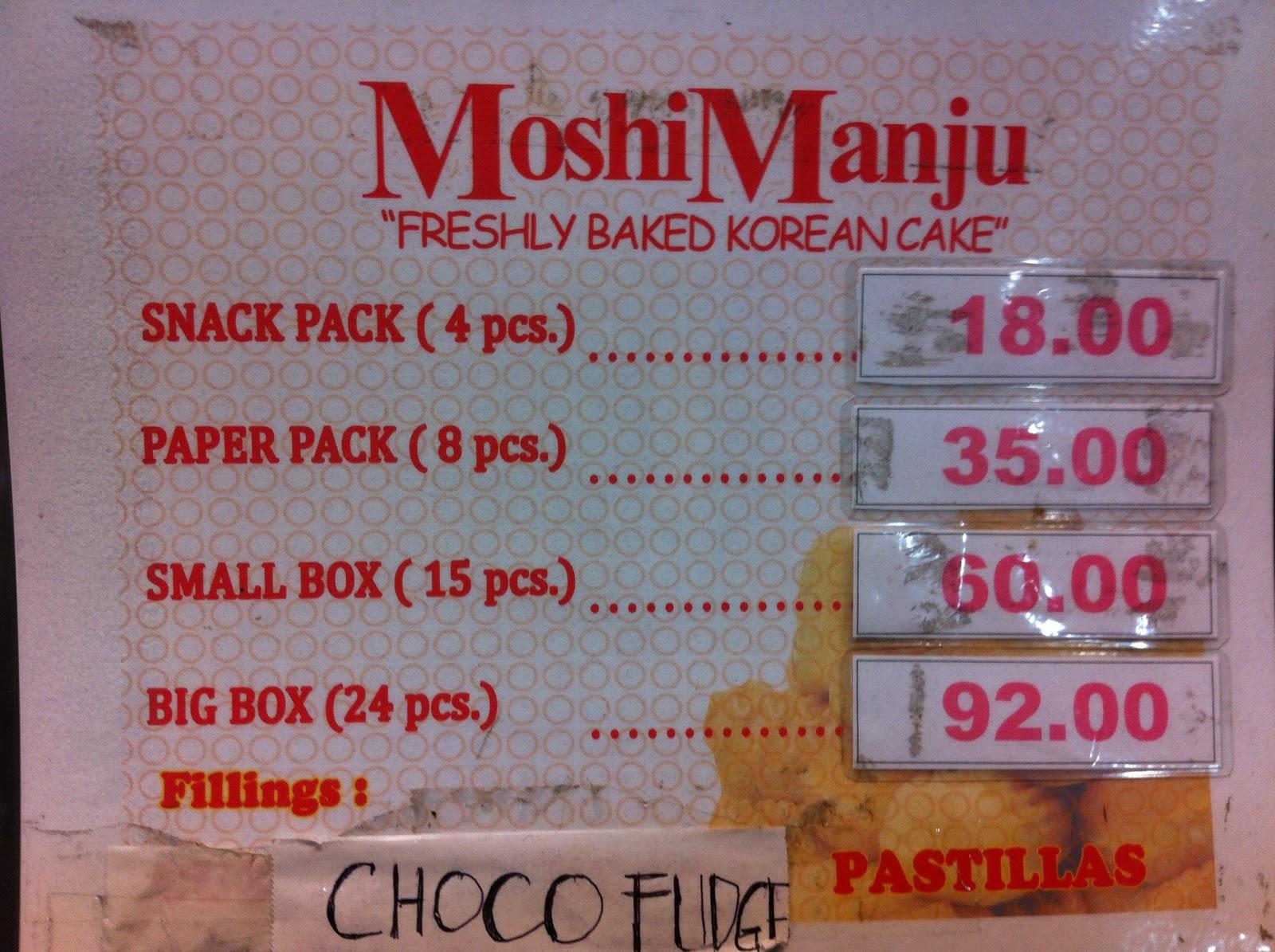 Rodillas Yema Cake Price List