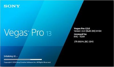 Sony Vegas Pro 13 + Crack - Download Torrent