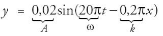 persamaan umum gelombang berjalan