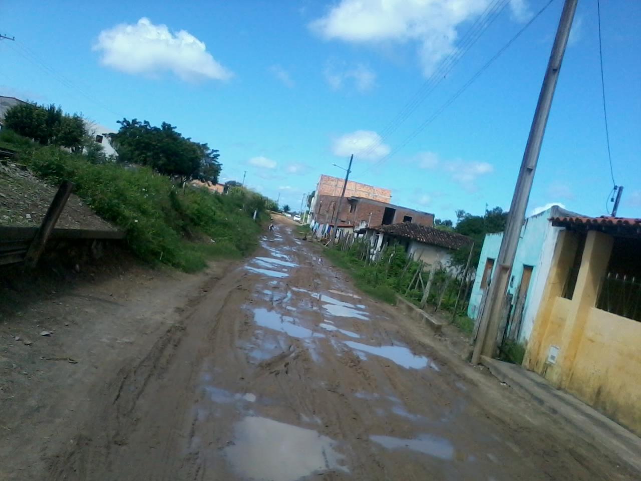 Serrinha:Vila Militão sofre quando chove