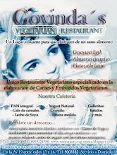 Visite el Restaurante Vegetariano Govindas de manta