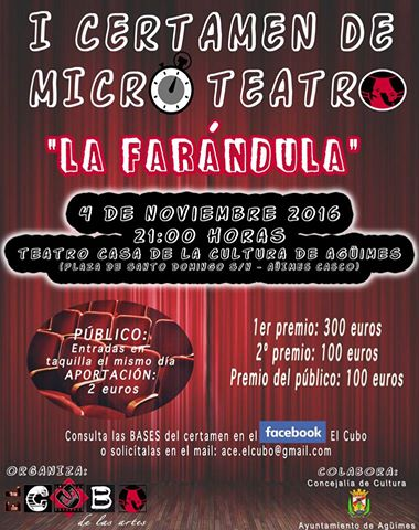 I Certamen de Microteatro La Farándula