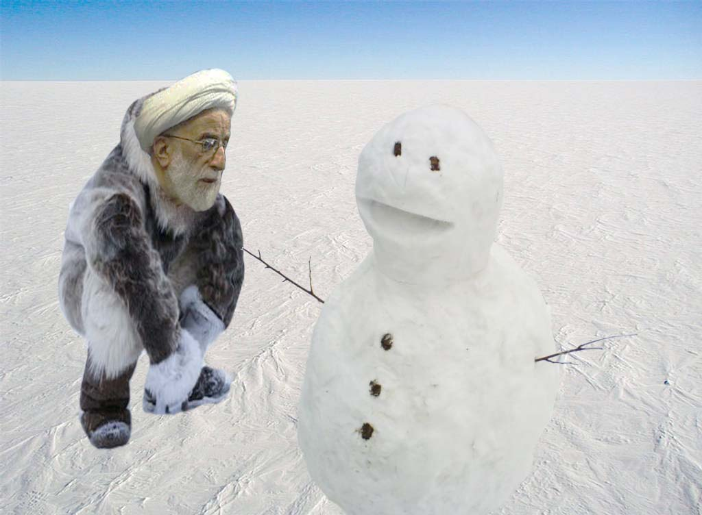 جنتی و آدم برفی! | ایران سبز