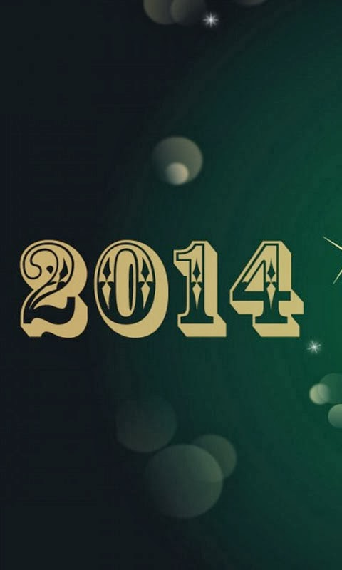 happy new year 2014 mobile themes