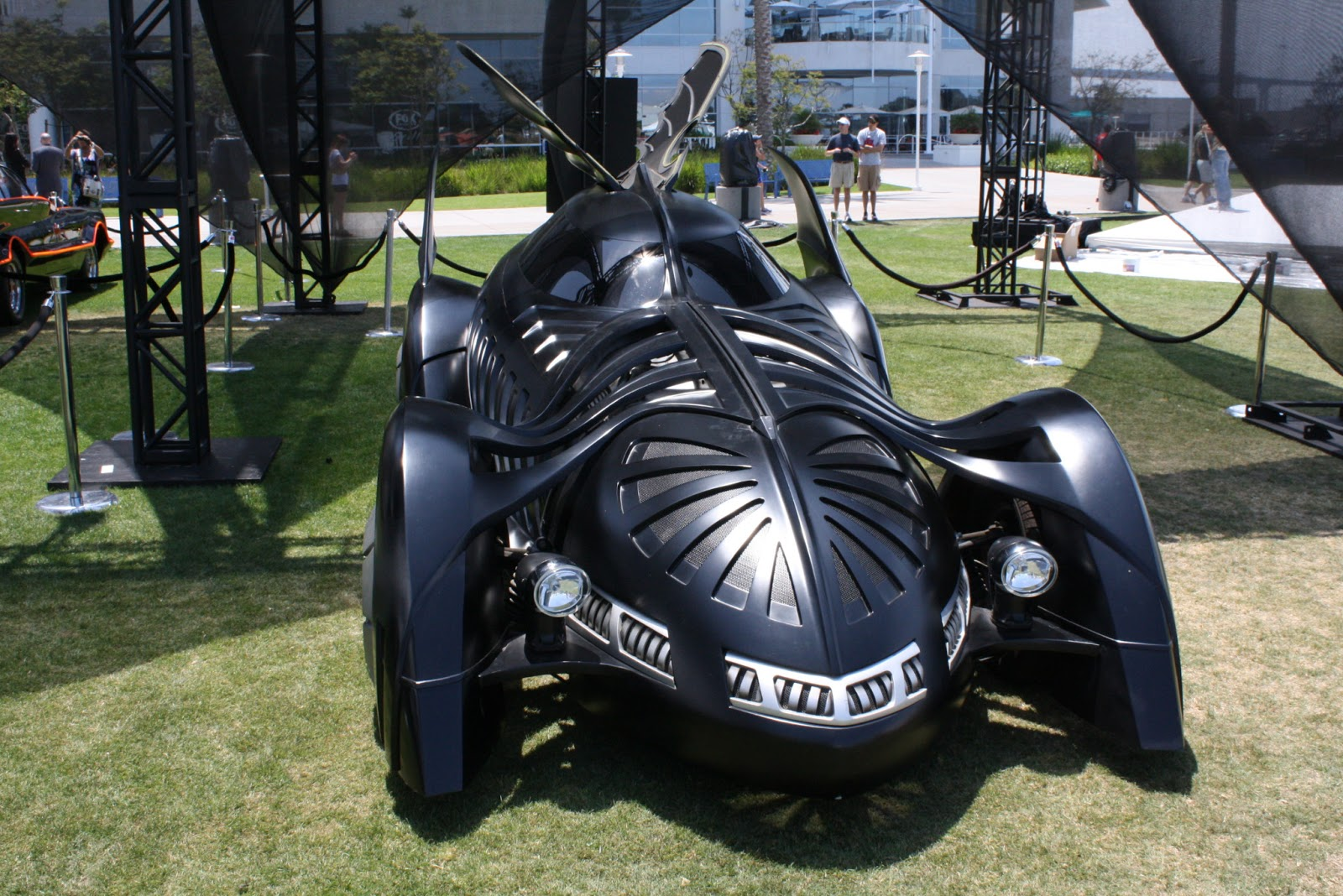 The Real Batman's vehicles