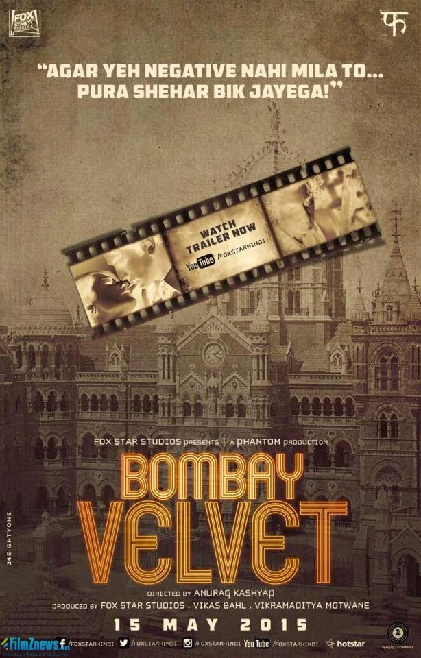 Bombay Velvet (2015) First Look Posters 3