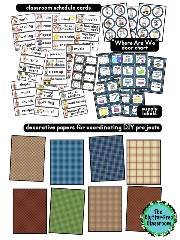 Camping Themed Classrooms Clutter Free Classroom