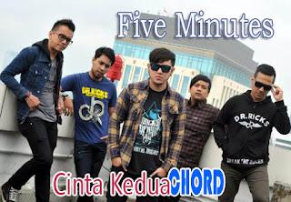 Lirik dan Chord(Kunci Gitar) Five Minutes ~ Cinta Kedua