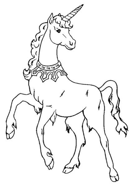 Unicorns to Color and Print Out Coloring Pages