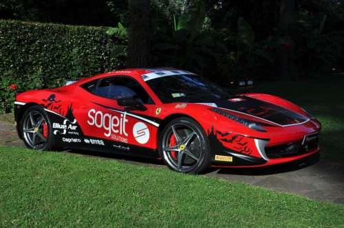 Ferrari 458 Italia pe Transfagarasan
