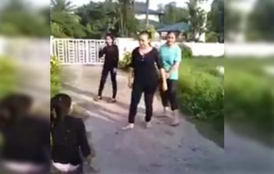 Video gadis kelantan bergusti tersebar