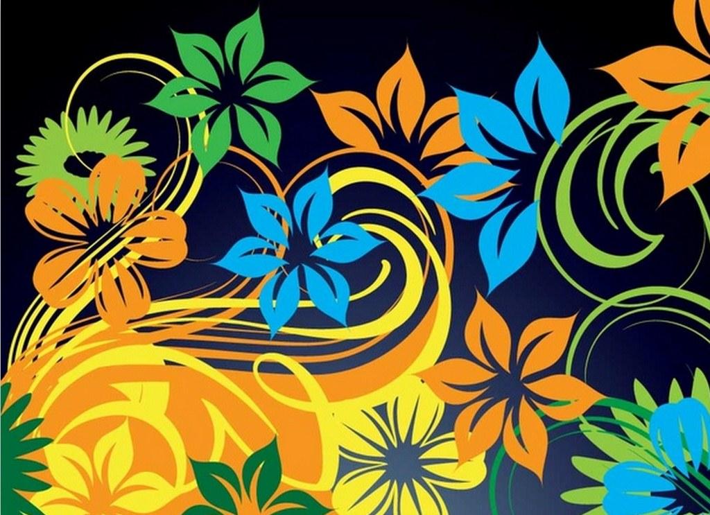 Pintura moderna y fotograf a art stica flores dibujos y - Disenos para pintar ...