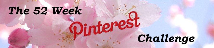 52 Week Pinterest Challenge
