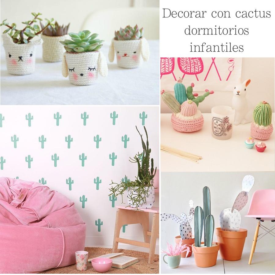 Decorar con cactus habitaciones infantiles mi casa es feng for Decorar mi casa online