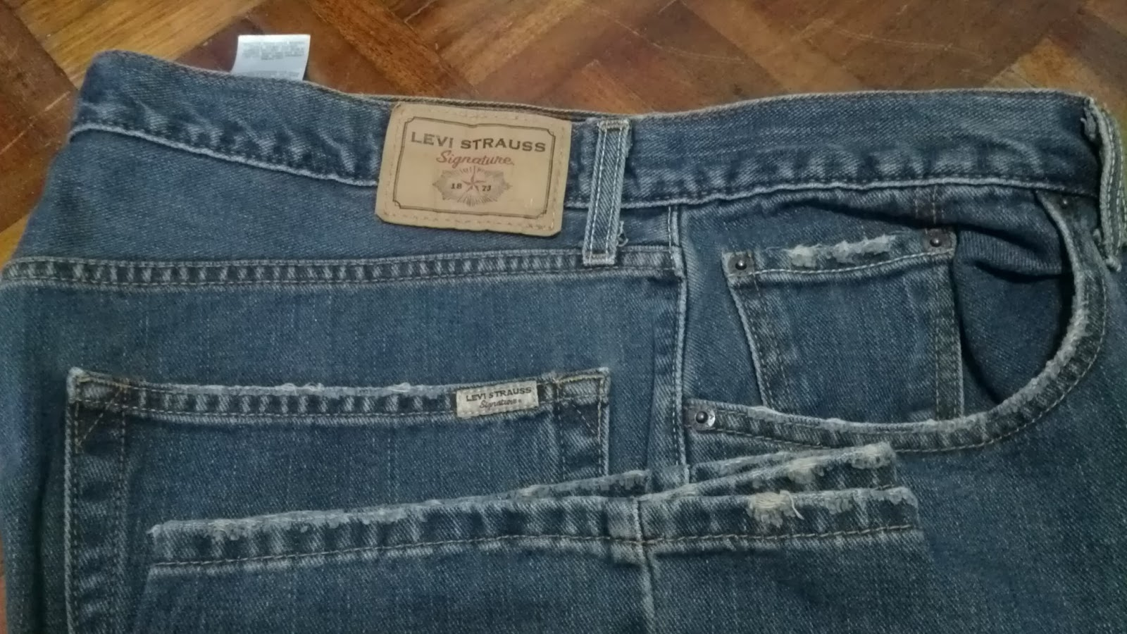 Jeans By Example Levis Signature W42 L32 SOLD