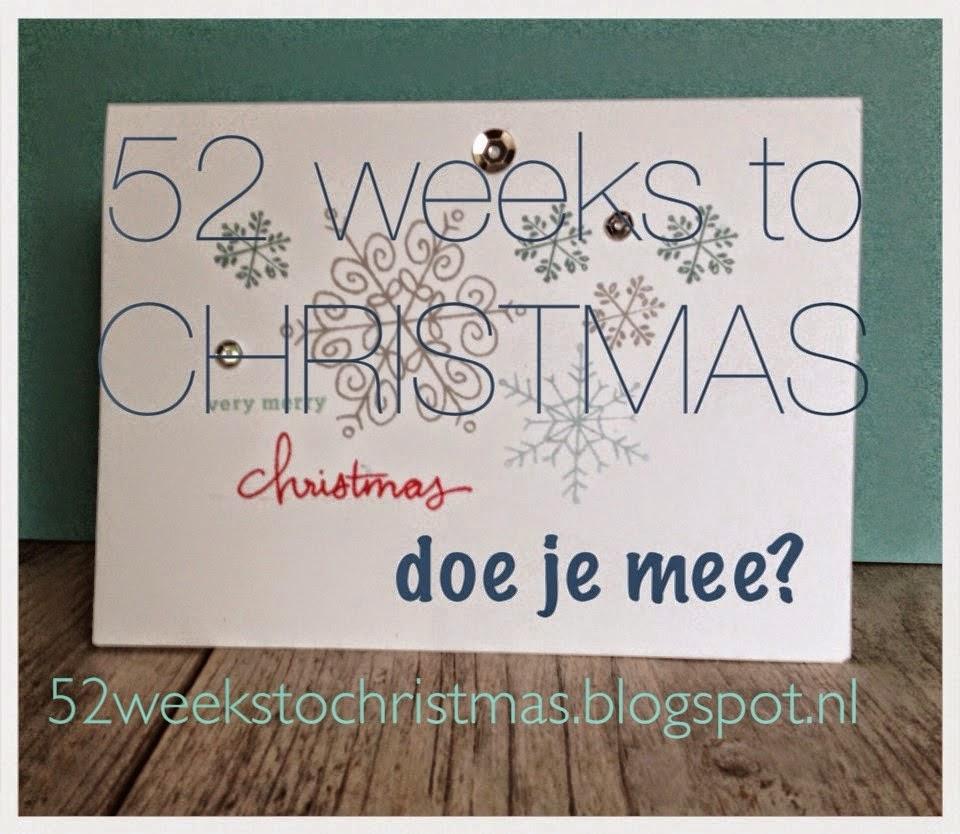 52 weken tot kerstmis