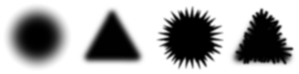 Distintos tipos de sombra para el veneno