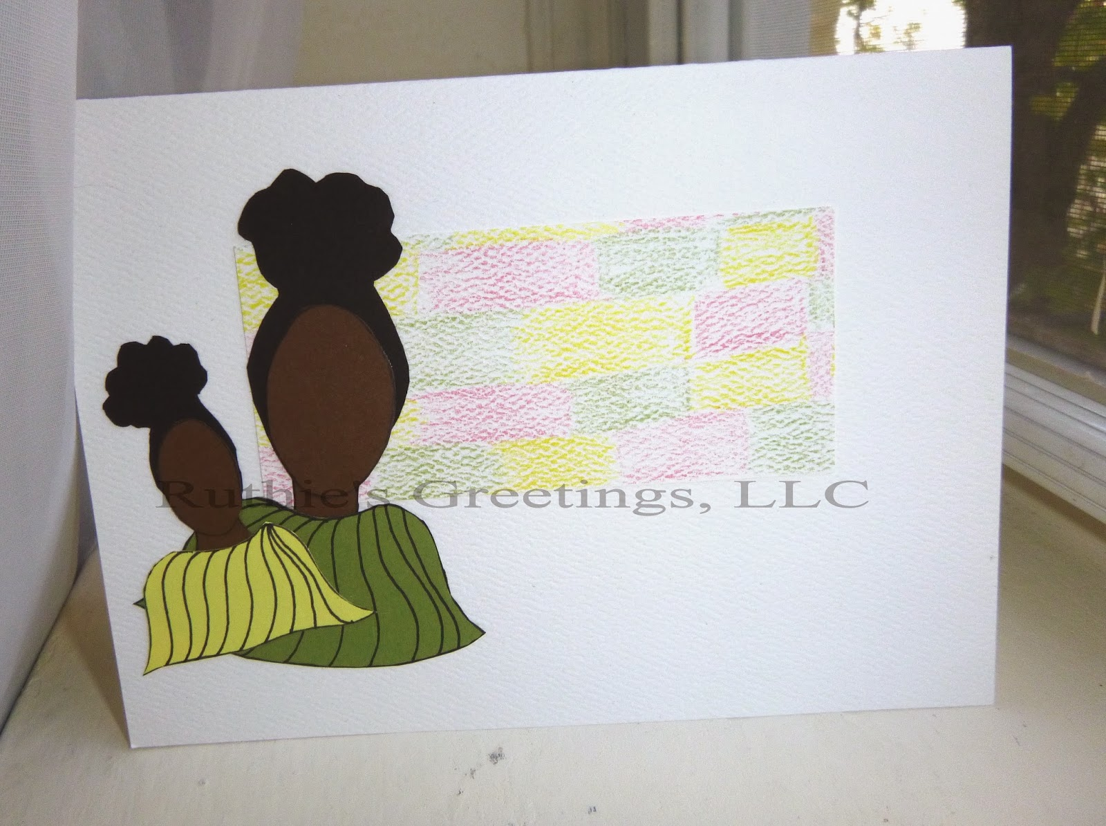 New Winter Natural Hair Greeting Cards