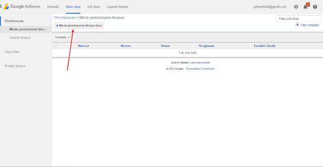 New Ads Search Adsense