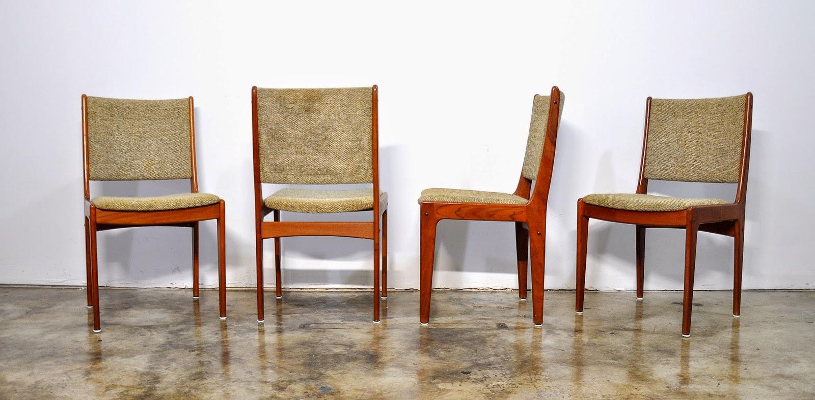 SELECT MODERN Set of 4 Danish Modern Teak Dining Chairs : ScandinavianTeakDiningChairs3 from midcenturymoderndesignfinds.blogspot.com size 1600 x 787 jpeg 263kB