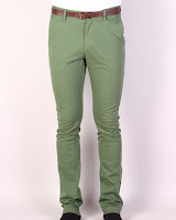 Pantaloni Zara Barbati Earnest Green (Z )