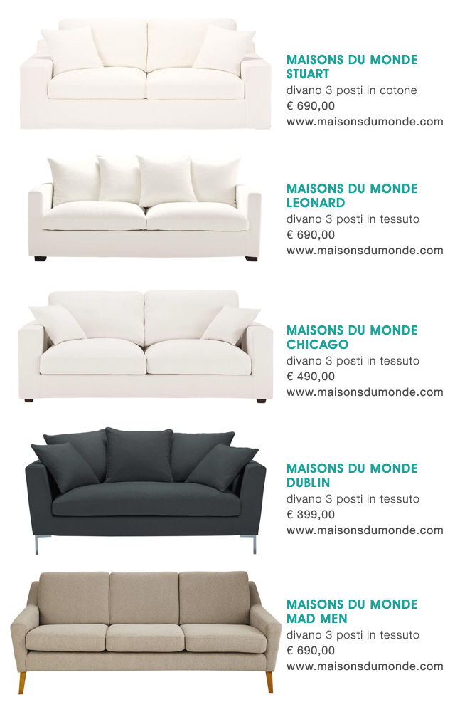 Seaseight Design Blog: SOFA DESIGN // LOW COST