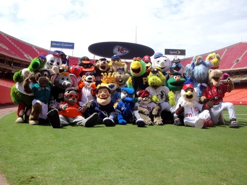 See If You Can Spot The Missing MLB Mascot In This Photo