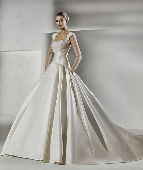 Euro Style Weeding Dress