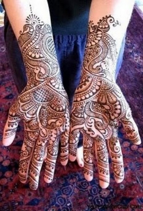 Mehndi Pictures For Hands : Mehndi designs for hands pictures celebrity beauty