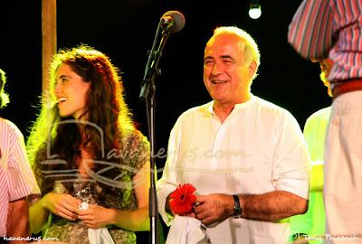 Havanerus Càstor Pérez amb la Sílvia Pérez Cruz, 44º cantada d'havaneres a Calella de Palafrugell