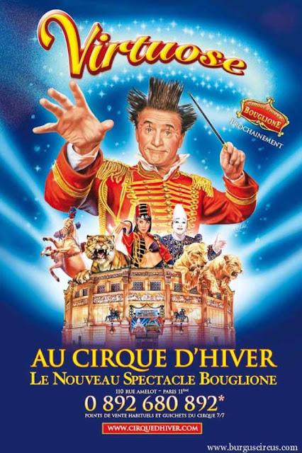 800x2 places pour le Cirque d'Hiver Bouglione à Paris à gagner