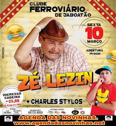 CLUBE FERROVIÁRIO DE JABOATÃO - ZÉ LEZIN.