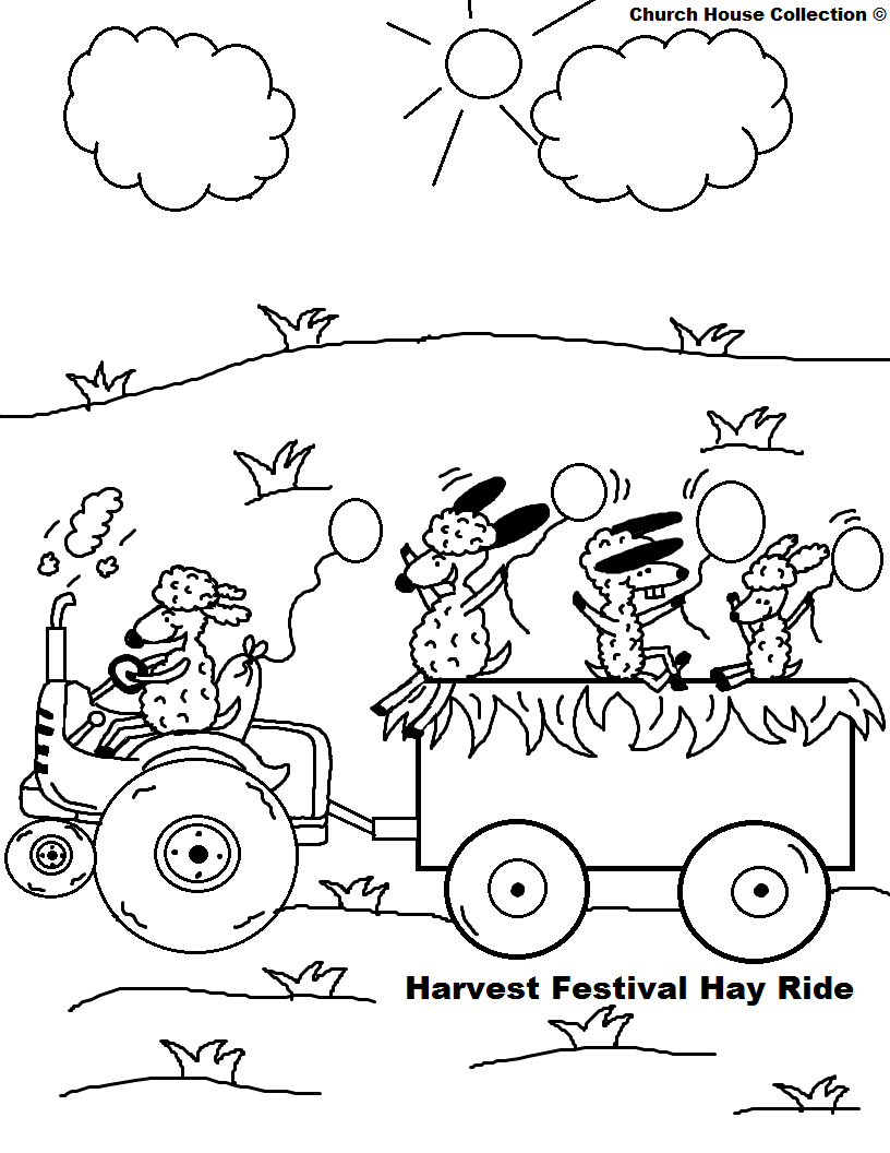 christian fall festival coloring pages - photo#1
