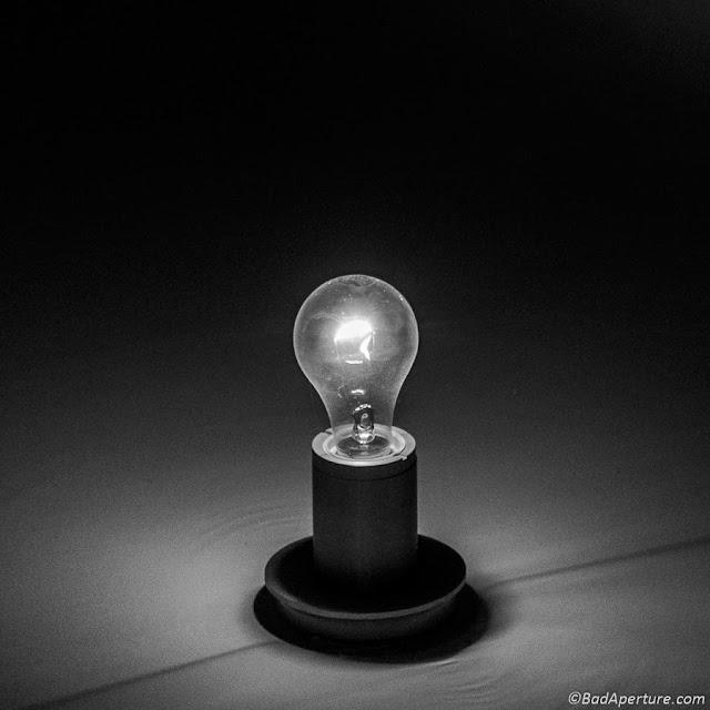 Light Bulb in Dark
