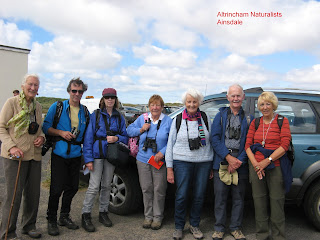 A few Altrincham Naturalists (photographed by John Fulton).