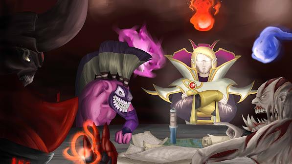 dota 2 battle plans doom lucifer dazzle shadow priest dazzle invoker naix lifestealer game