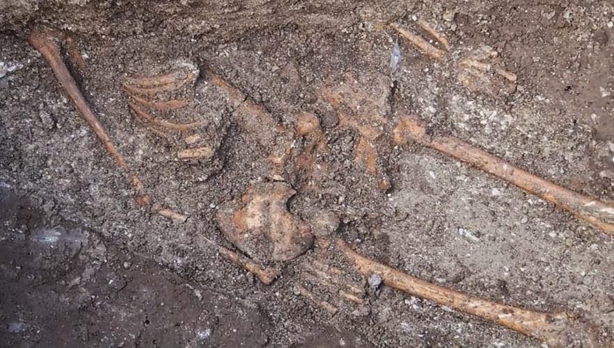 «Τεράστιος σκελετός» ανακαλύφθηκε στη Βάρνα της Βουλγαρίας