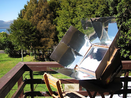 solar oven used for cooking