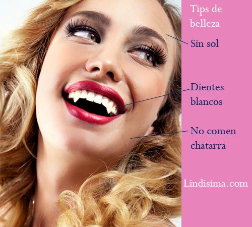 tips belleza vampiros