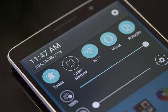 O LG G4 Stylus vem com o Android 5.0 instalado