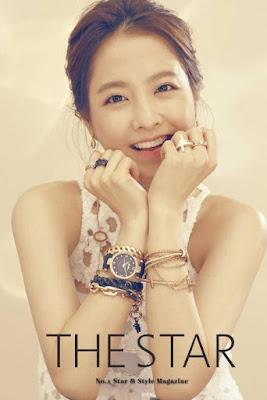 Park Bo Young The Star November 2015