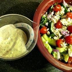Deportes Radio Faro: Salad - Creamy Greek Dressing