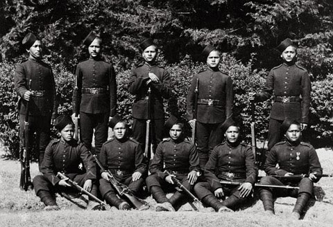 Members of the 39th Garhwal Rifles_DevBhumiUttaranchal