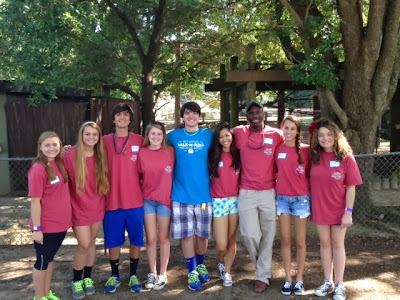 Montgomery Catholic Preparatory School Key Club Volunteers at Walk-N-Roll for Spina Bifida 2