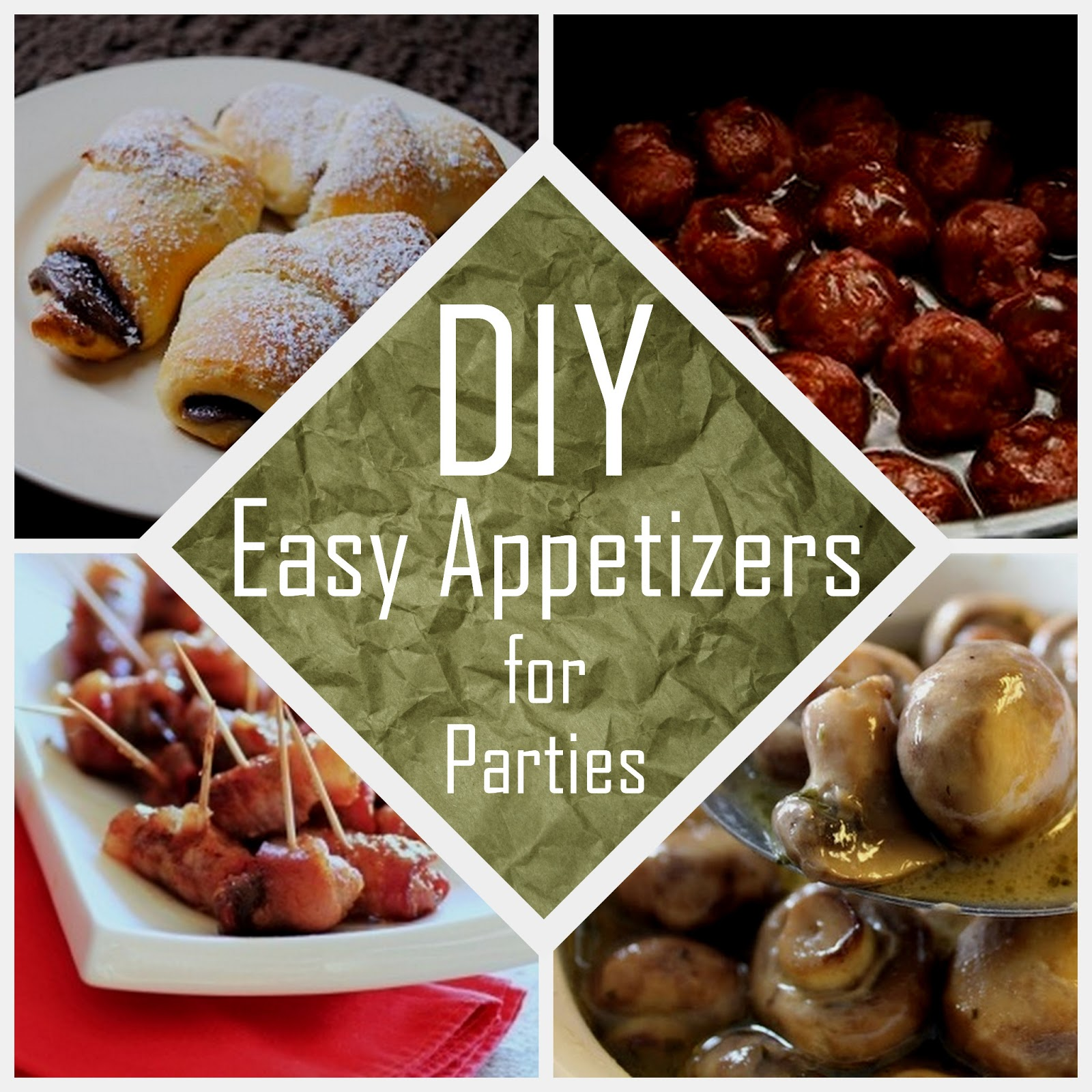 Party Time Easy Appetizers