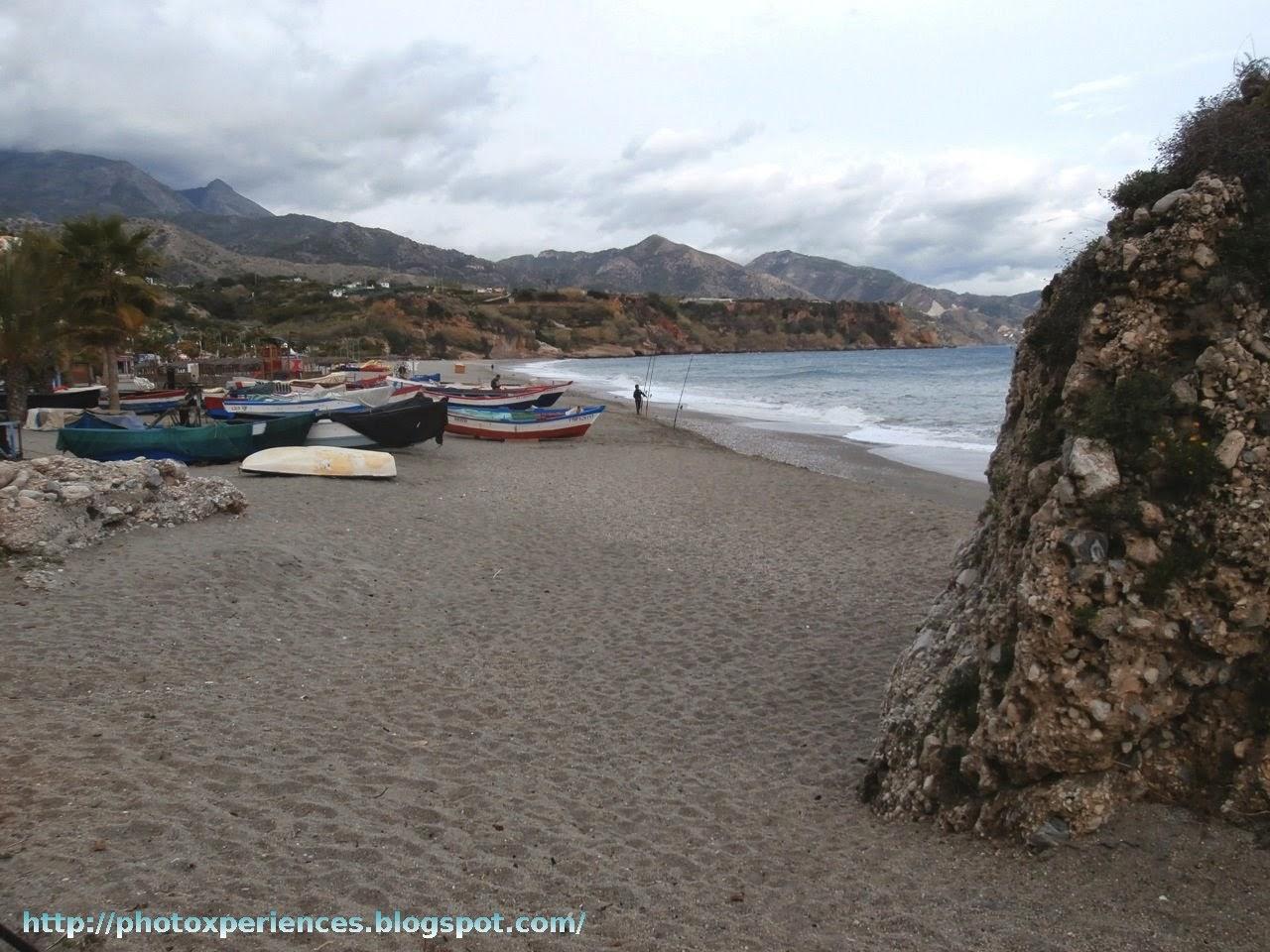Calahonda Beach. Playa Calahonda.